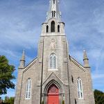In dieser Kirche heirateten seinerzeit Marthe und Morris.