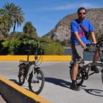 Unsere erste kleine Velo-Tour in Mexiko.