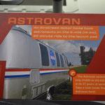 Der Astrovan - damit wurden die Astronauten zur Raketen-Abschussrampe gefahren.