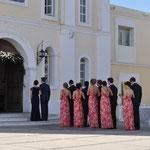 Mexikanische Hochzeit - alle warten auf die Braut.