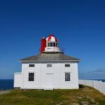 Einer von zwei Leuchttürmen am Cape Spear.