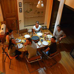 Fränzi weilte in der Schweiz und verpasste dadurch den Raclette-Abend. Sie hat aber sicher auch eins geniessen dürfen, oder? :-)