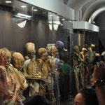Zirka dreissig Personen nahmen an der geführten Tour teil.