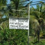 Sofa- und Waschmaschinen-Reparaturstätte ;-)
