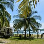 Für uns ein absoluter Traumplatz... Camping Aloha in Sámara.