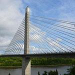Die Penobscot Narrows Bridge wurde am 30. Dezember 2006 für den Verkehr freigegeben.