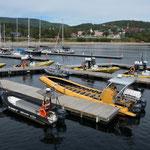 An diesem Tag war nicht mehr so viel los und so blieb das eine oder andere Touristenboot im Hafen.