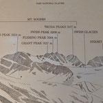 Man beachte Swiss Peak und Swiss Glacier :-)