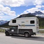 Icefields Parkway zwischen Banff und Jasper Nationalpark