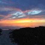 Wunderschöner Campingplatz mit tollen Sonnenuntergängen.