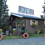 Unser Stellplatz beim Office der Lulubelle.
