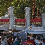Der Samstags-Markt in Portland.