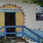 Die Schule dient auch als Zufluchtsort bei einem nahenden Hurrikan.