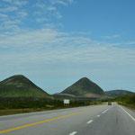 Schon die ersten paar Kilometer auf Neufundland gefielen uns gut.