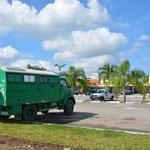 """Hilu's und Sigo's """"Pummel"""" und unser Truck-Camper treffen sich wieder, bestimmt haben sich auch die Fahrzeuge viel zu erzählen ;-)"""