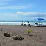 Der Strand in Jacó war erstaunlich schön...