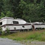 Hoffentlich bleibt unser Camper vor diesem Schicksal verschont!