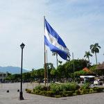 Nicaragua's Flagge