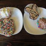 Süsse Versuchungen in einer Bäckerei - Widerstand zwecklos!