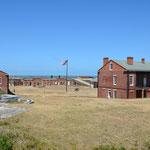Das Fort Clinch auf Amelia Island.