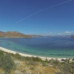 Blick auf die Bucht, nur ein Strand von vielen...