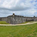 Das Castillo de San Marcos in St. Augustine. Im Jahr 1672 wurde mit dem Bau begonnen.