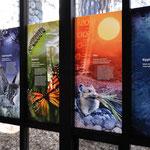 Die Ausstellungen in den Besucherzentren sind meist sehr schön und informativ eingerichtet.