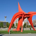 Kunst im Olympic Sculpture Park.