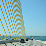 Über die Sunshine Skyway Bridge gelangten wir nach St. Petersburg.