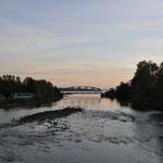 Capilano River in Abendstimmung