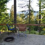 Zum Resort gehört auch ein Campingplatz.