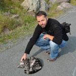 Claudio und Katzen, definitiv eine Liebesgeschichte.
