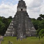 """Das Wahrzeichen der Maya-Kultur, der 47 Meter hohe """"Grosse Jaguar""""."""