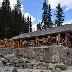 """Zweites """"Teahouse"""" auf unserer Wanderung beim Lake Agnes."""