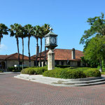 Die Plätze in St. Augustine wirkten alle sehr gepflegt.