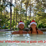 """Das """"anständige"""" Foto diente als Weihnachtsgruss."""