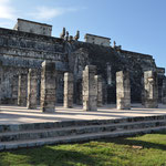 Kriegertempel und Halle der 1000 Säulen