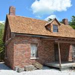 Das restaurierte Haus des damaligen Leuchtturmwärters.