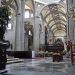 Im Innern der Kathedrale.