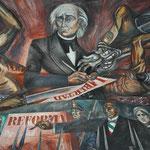 Wandgemälde im Kongresssaal