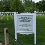 Der Arlington National Cemetry.
