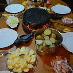 HERRLICH - ein Raclette-Abend in Costa Rica. Was für eine Überraschung! Herzlichen Dank!