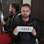 ... so auch Häftling Nr. 2353.