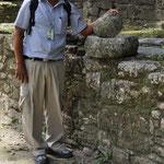 Ignacio, unser Guide erzählt einiges über Kultur, Fauna und Flora, Land und Leute.