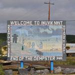 Willkommen in Inuvik.
