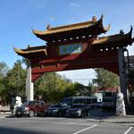 """Ist auch immer wieder interessant - eine """"Chinatown"""" in der Grossstadt."""