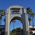 Besuch der Universal Film-Studios in Hollywood.