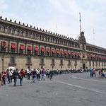 Palacio Nacional, Sitz der Regierung in Mexiko.