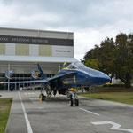 Im Naval Aviation Museum gab es zahlreiche Flugzeuge, Helikopter, usw. zu bestaunen.
