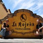 Zu Besuch bei der Destillerie José Cuervo.